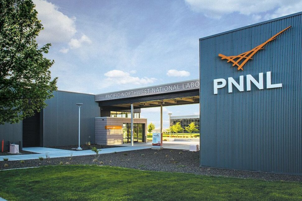 Entrance to Pacific Northwest National Laboratory